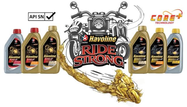 All Havoline Super 4T and SuperMatic 4T four-stroke motorcycle and scooter engine oils now come with the upgraded C.O.R.E.+ Technology, Caltex's most advanced and best-performing formulation | CebuFinest