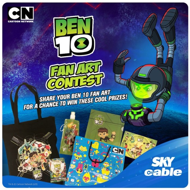 SKYcable holds a digital fan art contest for kids from October 3 to 9 | CebuFinest