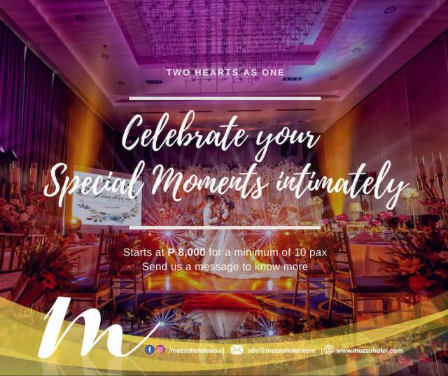 Celebrate your Special Moments at Mezzo Hotel. | CebuFinest