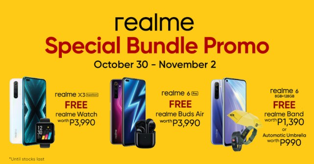 Kickstart holiday shopping with realme's Special Bundle promos | CebuFinest