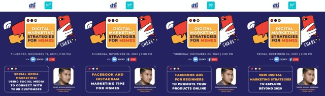 DTI-7's Digital Marketing Webinars for MSMEs now available on official Facebook Page | CebuFinest