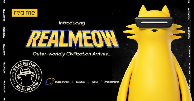 realme introduces official brand character REALMEOW | CebuFinest
