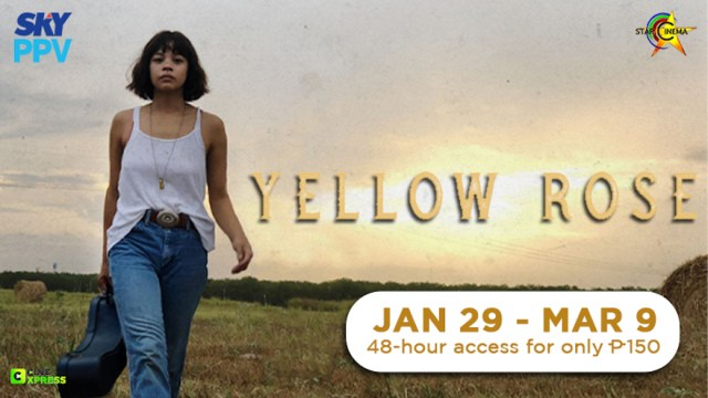 Internationally acclaimed 'Yellow Rose' premieres on SKY Movies Pay-Per-View   CebuFinest
