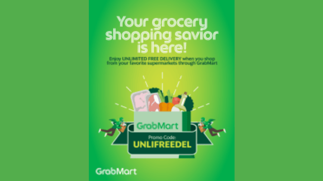 Enjoy Unlimited FREE delivery when shopping for your essentials on GrabMart! | CebuFinest