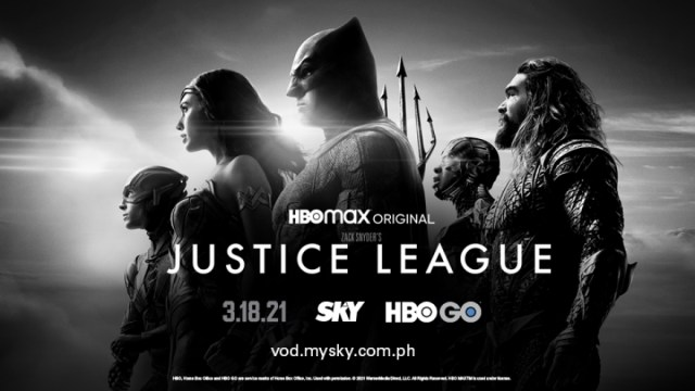 Highly-anticipated 'Zack Snyder's Justice League' to premiere in PH on HBO Go via Sky on March 18 | CebuFinest