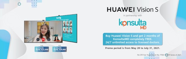 KonsultaMD and Huawei partnered to bring Filipinos convenient medical consultations right into their homes with the Huawei Vision S TV.   CebuFinest