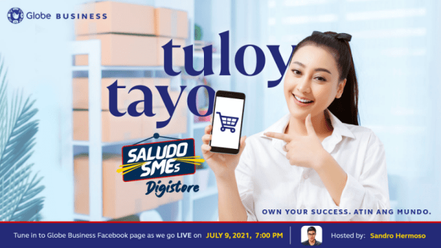 Globe Business to boost online sales of businesses through Saludo SMEs Digistore   CebuFinest