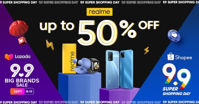 realme kicks off 'Ber' months with festive discounts of up to 50% off at Lazada, Shopee 9.9 Sale   CebuFinest
