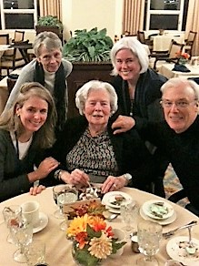 Mary Lawlor with family