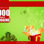1000 days of blogging celebrations