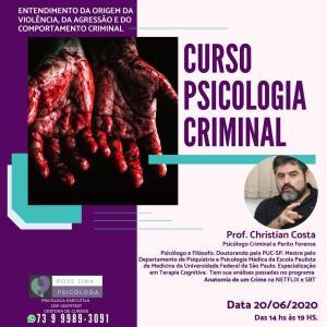 curso psicologia criminal