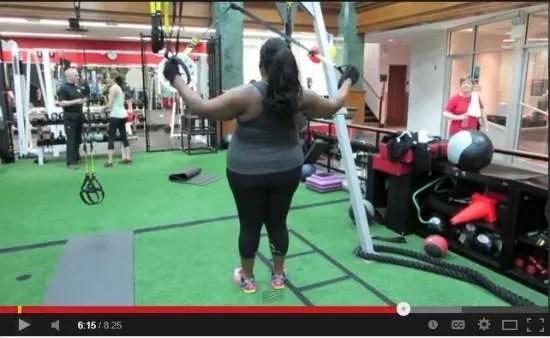 TRX Screenshot Plus Size Fitness