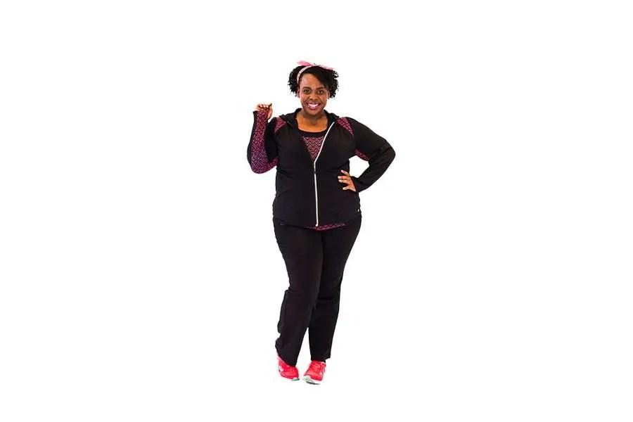 CeCe Olisa Plus Size Fitness #PSPfit Plus Size Gym Clothes