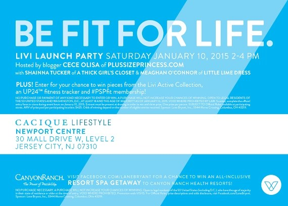 be fit for life event invite