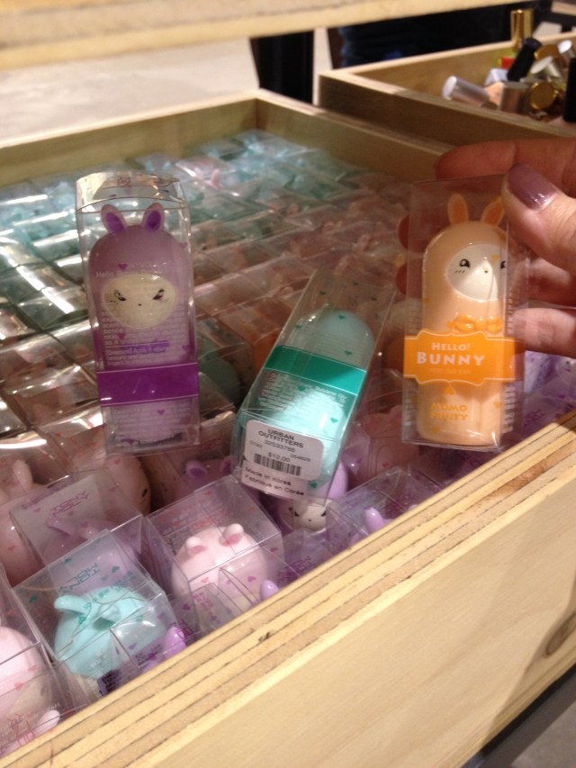 Tony Moly Hello Bunny Scent Bars ($12) at Urban Outfitters, Herald Sq NYC