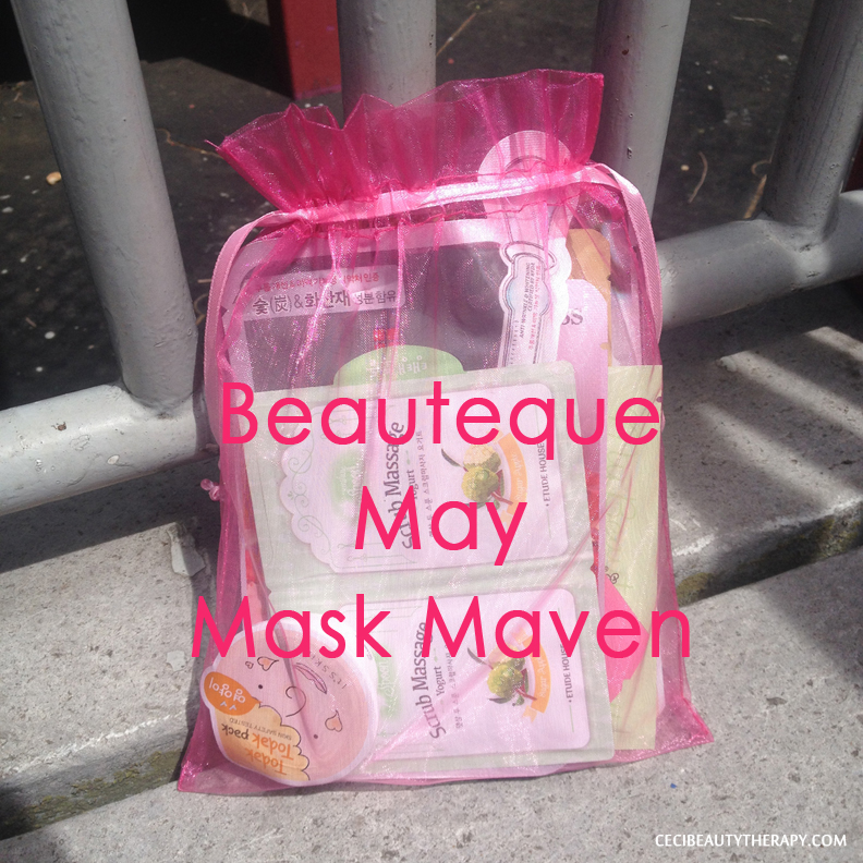 Unboxing May Beauteque Mask Maven Bag – Just OKAY