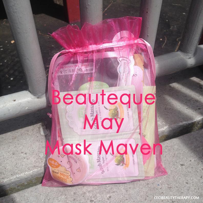 Beauteque May Mask Maven Bag
