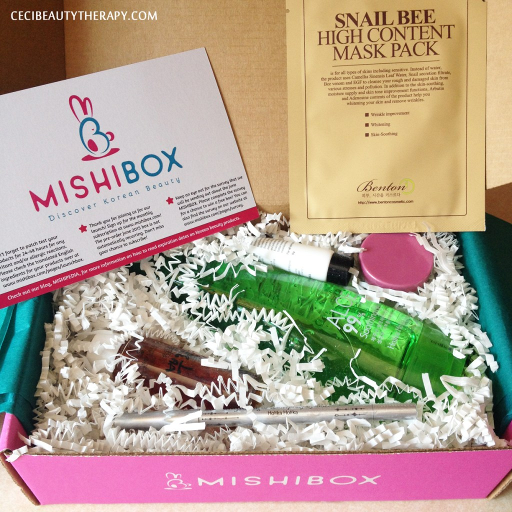 Review: Mishibox June Launch Box