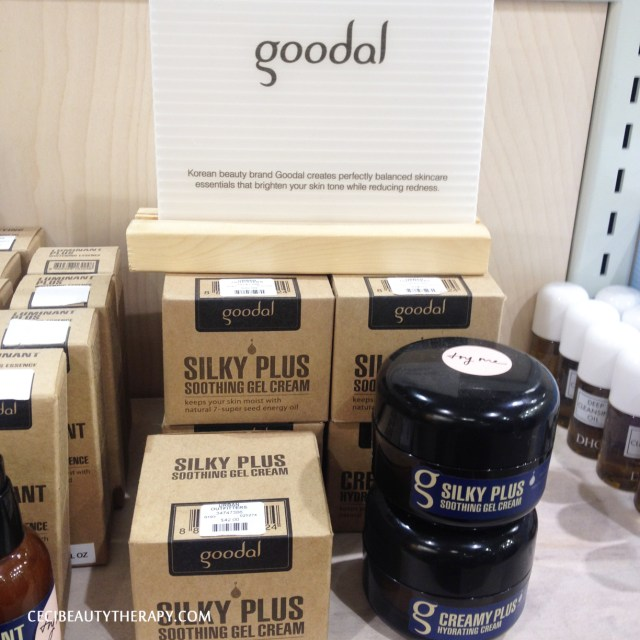 Goodal at Urban Outfitters Herald Sq, New York City. Silky Plus Soothing Gel Cream ($42) and Creamy Plus Hydrating Cream ($42)