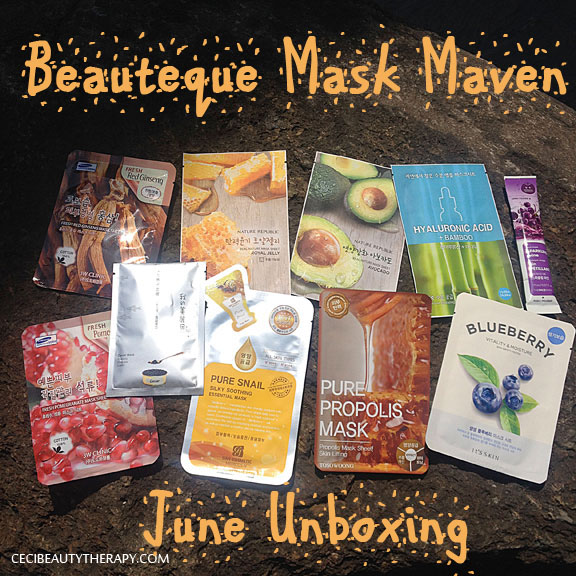 Unboxing June Beauteque Mask Maven Bag – Improvements on the Subscription!