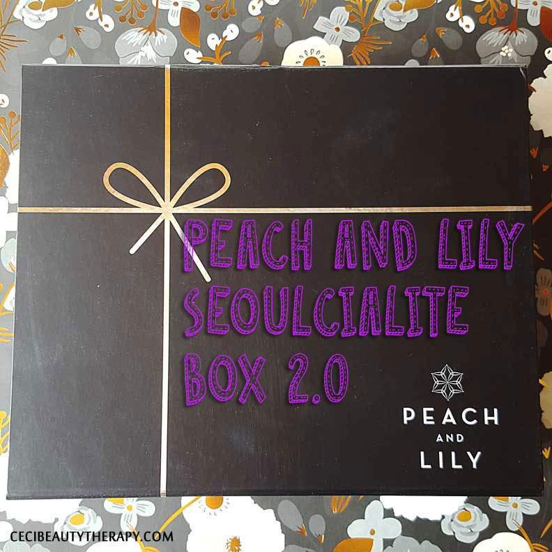 Review: Peach and Lily Seoulcialite Box 2.0 Unboxing with Booklet Info