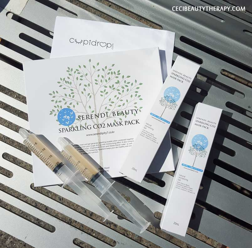Review: Serendibeauty Sparkling CO2 (Carboxy) Masks – Treat  Yoself with Spa-like Results