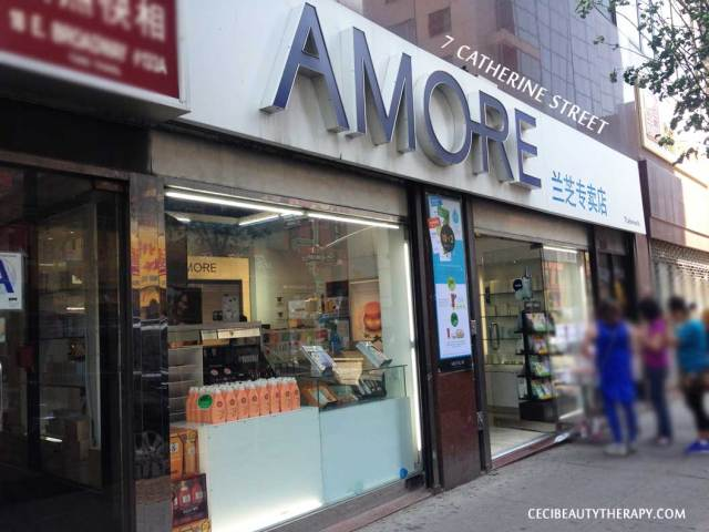 Find Amore Sulwhasoo, IOPE, Laneige in Chinatown NYC