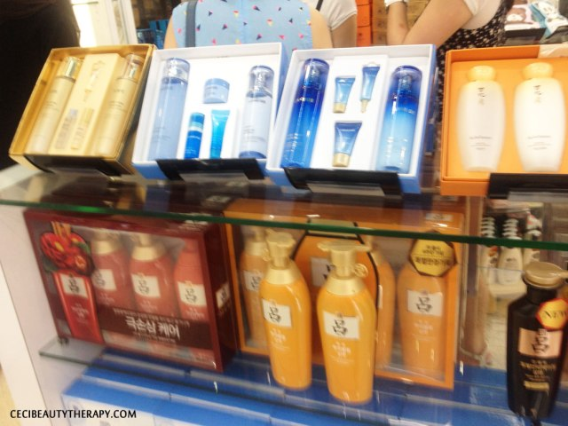 Laneige gift sets at Amore Chinatown NYC