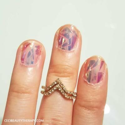 DIY Shattered Glass Nail Mani (19)