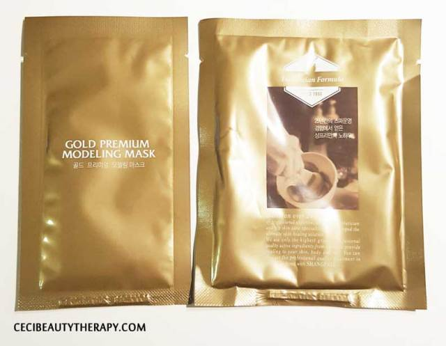Shangpree Gold Rubber Modeling Mask Review (10)