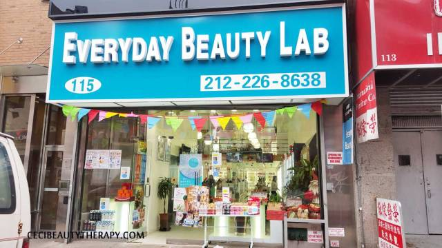 Everyday Beauty Lab Photo Tour Store Visit K-beauty Chinatown NYC