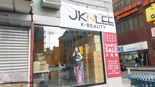 JKNLEE K-beauty Club Clio NYC Chinatown Sample Sale 2016 (10)