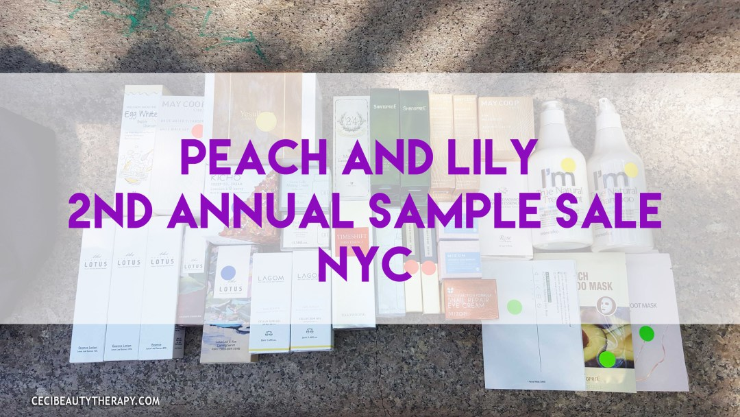 Event Update: 2nd Annual Peach & Lily Sample Sale – The Aftermath!