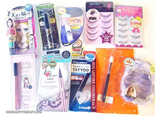 Best Eye Makeup to Buy in Tokyo Japan