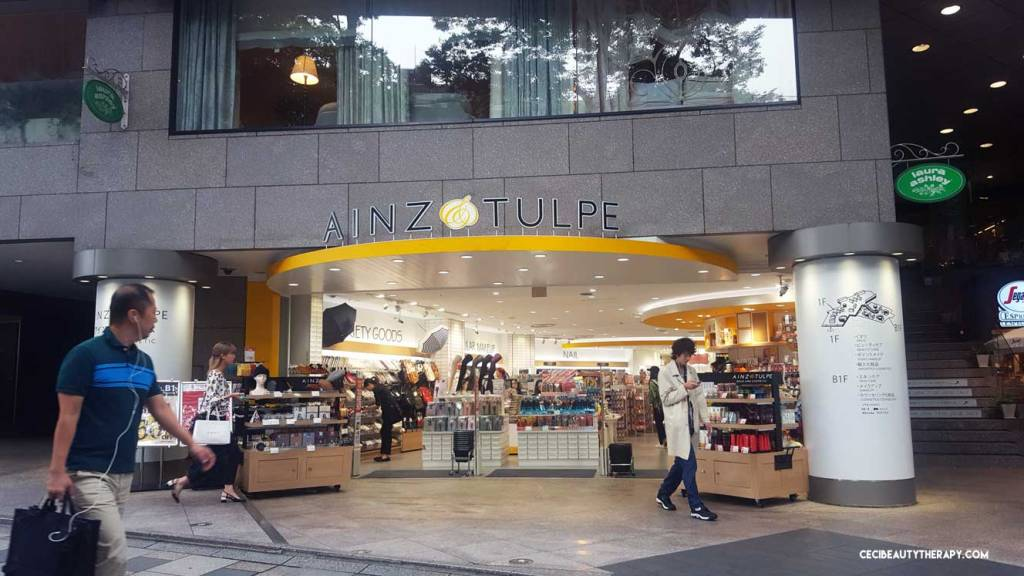 Photo Tour: Ainz & Tulpe (and Their Skincare Rankings Wall) in Tokyo, Japan – Harajuku location