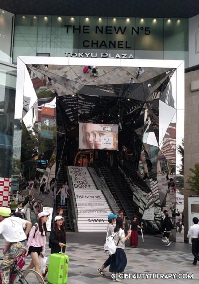 Take the escalator up