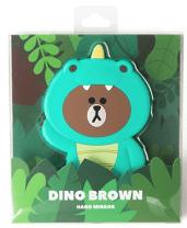 Dino Brown Hand Mirror$11.95