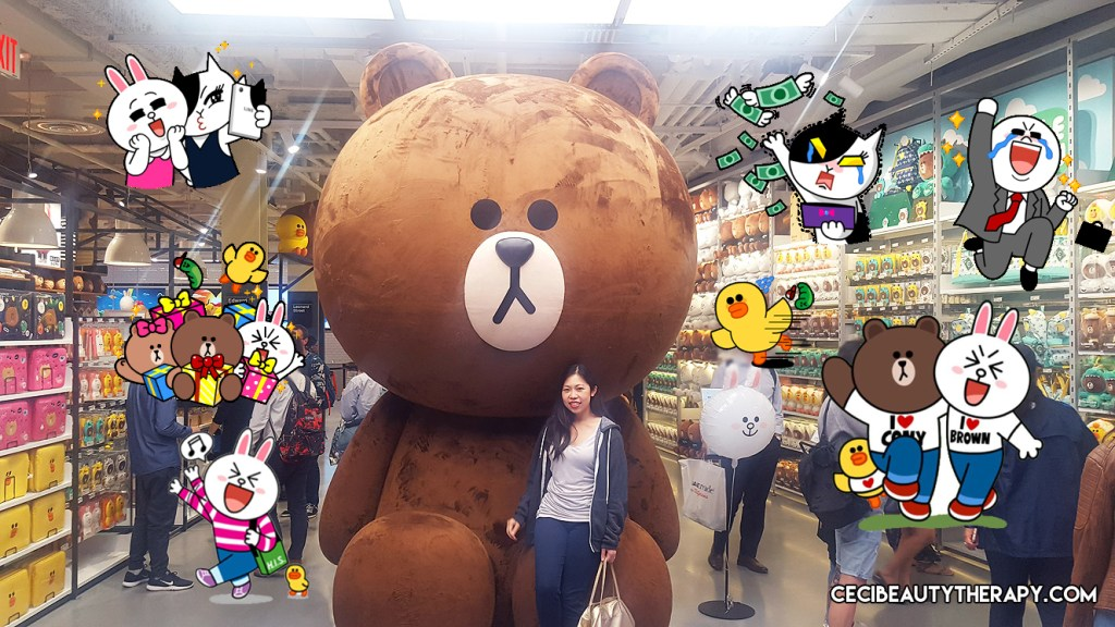 Store Visit: LINE FRIENDS – New York City Times Square