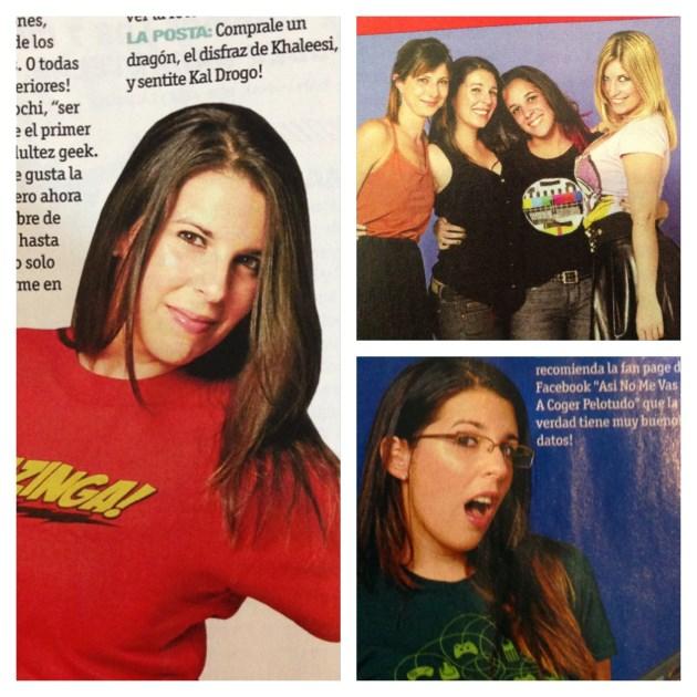 Chicas geek revista hombre