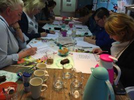 Workshops Ceciel Maakt: Handlettering & Raamtekening