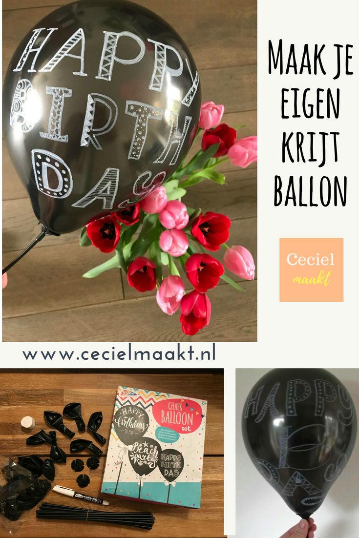krijt ballon