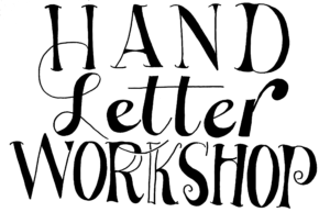 workshop agenda, ceciel maakt, workshop handlettering