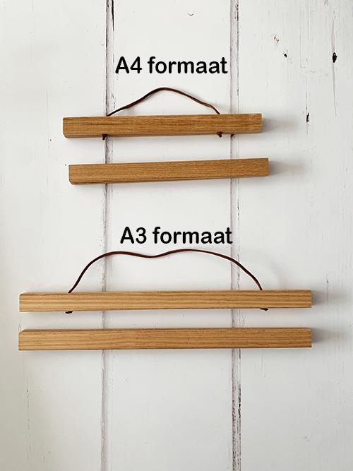 posterklemmen in 2 formaten: a4 en a3