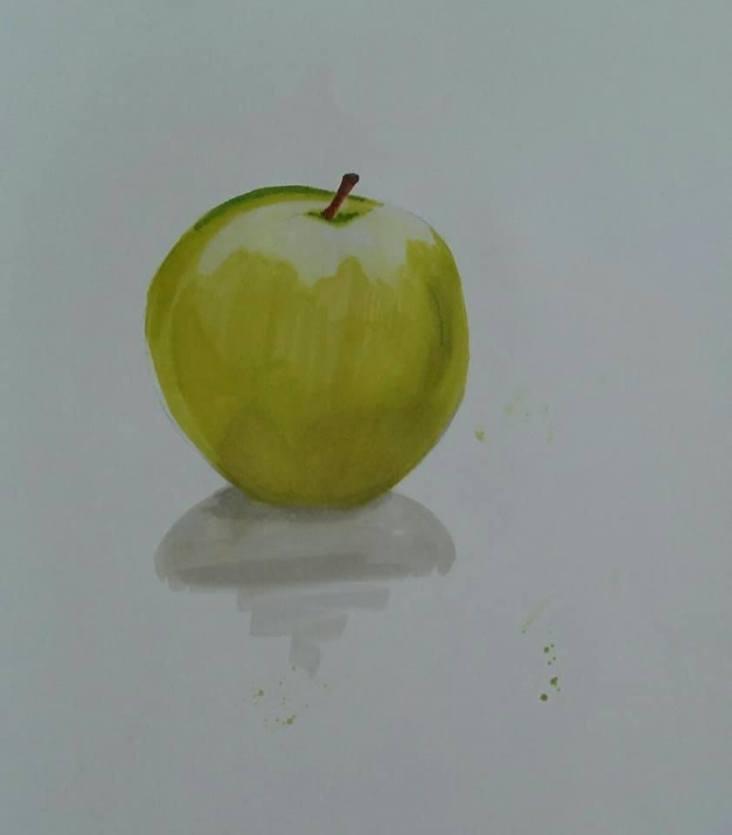 dessin rapide d une pomme