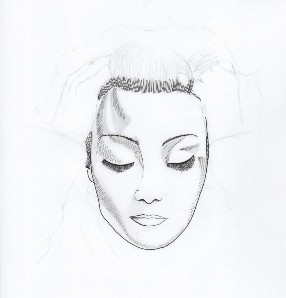 dessin representant michele morgan