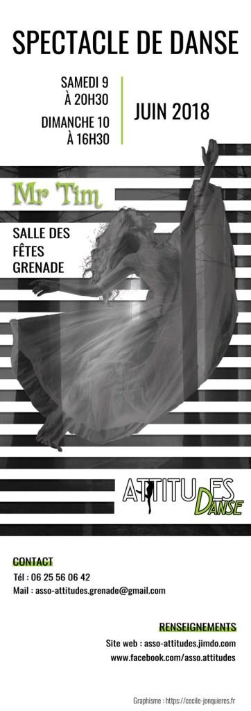 couverture du programme du spectacle de danse réalisé par cecile jonquiere - cecile jonquieres