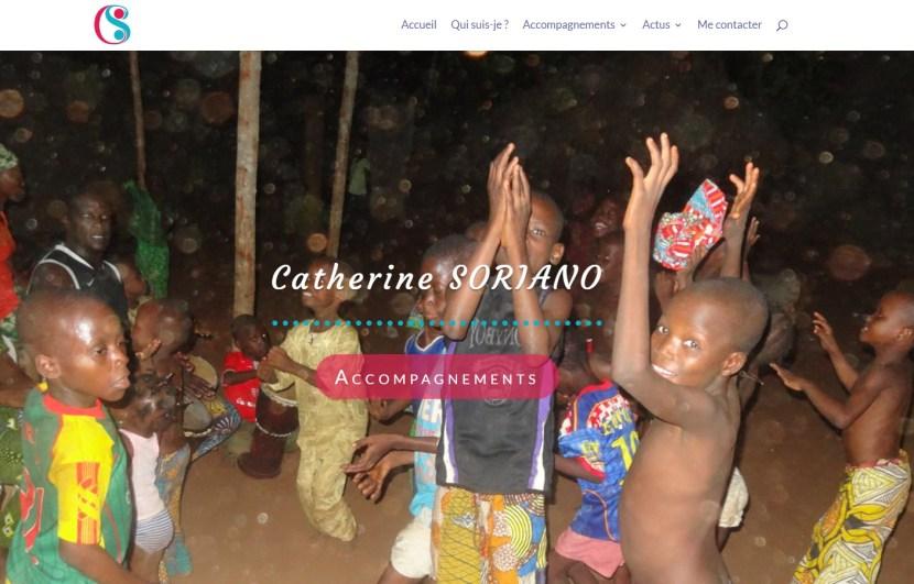 Page d'accueil du site de Catherine Soriano | Ma Coach