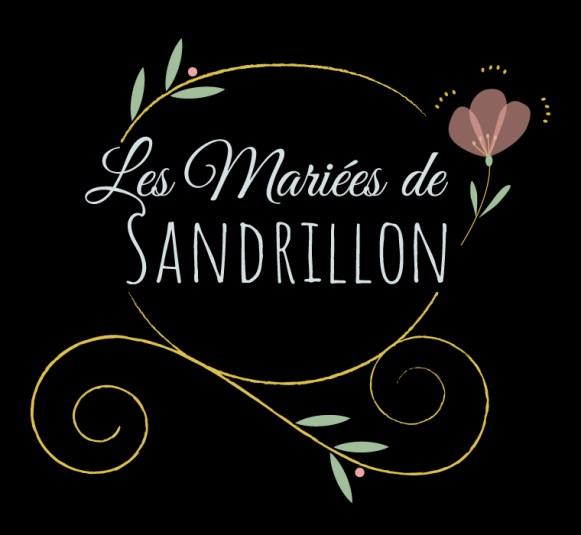 Logo les Mariées de Sandrillon - version pour fond noir ou foncé