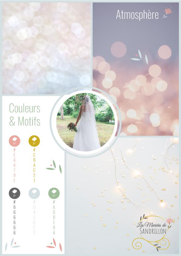 planche de tendances - atmosphère et couleurs proposées
