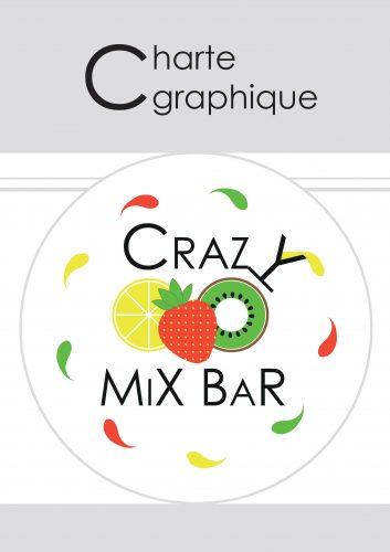 couverture de la mini charte graphique du crazy mix bar